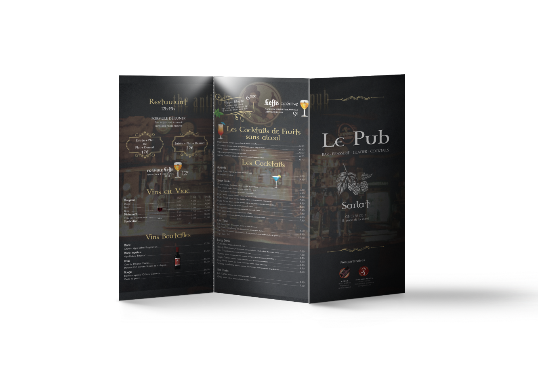 carte de menu