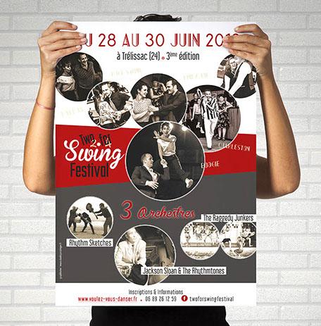 Affiche de festival