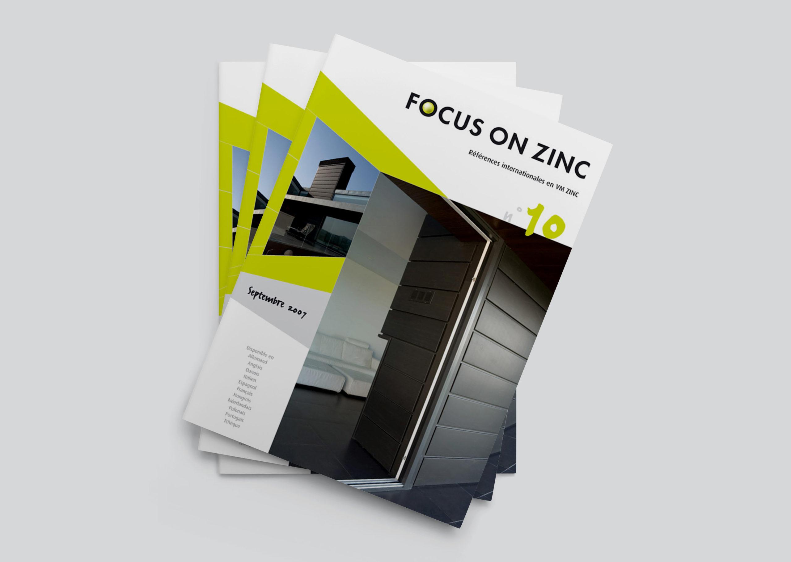 brochure d'architecture